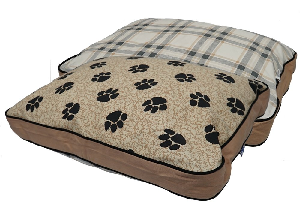 MyPillow Pet Beds, Large, Tan