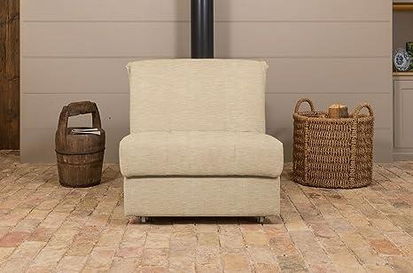 Chinton Chair divano letto a 1 posti, Cassino Cream, 1 posto: Amazon ...