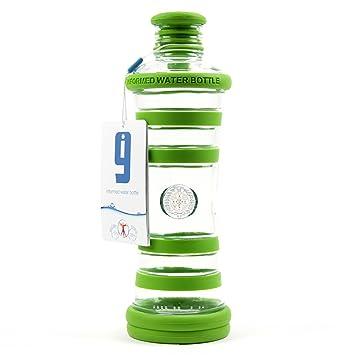 Yoga de botella i9 Yoga, verde