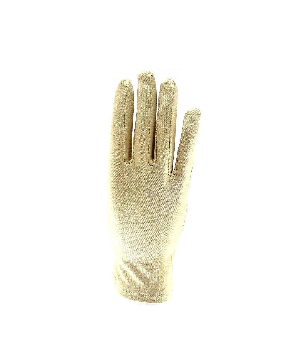 Zac's Alter Ego Women's Short Satin Gloves Fancy Dress Formal