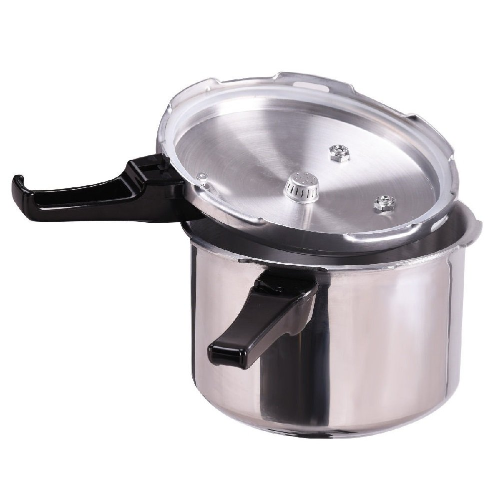 Aluminum Pressure Cooker Canner Fast Pot Kitchen Instant