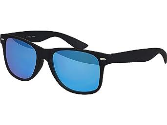 8df9b1c929 Balinco Alta Calidad Uv400 Cat 3 Ce Gafas de Sol de Nerd Matte Rubber Retro  Vintage Unisex Gafas con Bisagra de Muelle para Hombres y Mujeres - 100  Varios ...