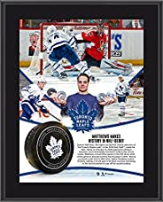 "Auston Matthews Toronto Maple Leafs 10.5"" x 13"" Four-Goal NHL Debut Sublimated Plaque - NHL Player P"