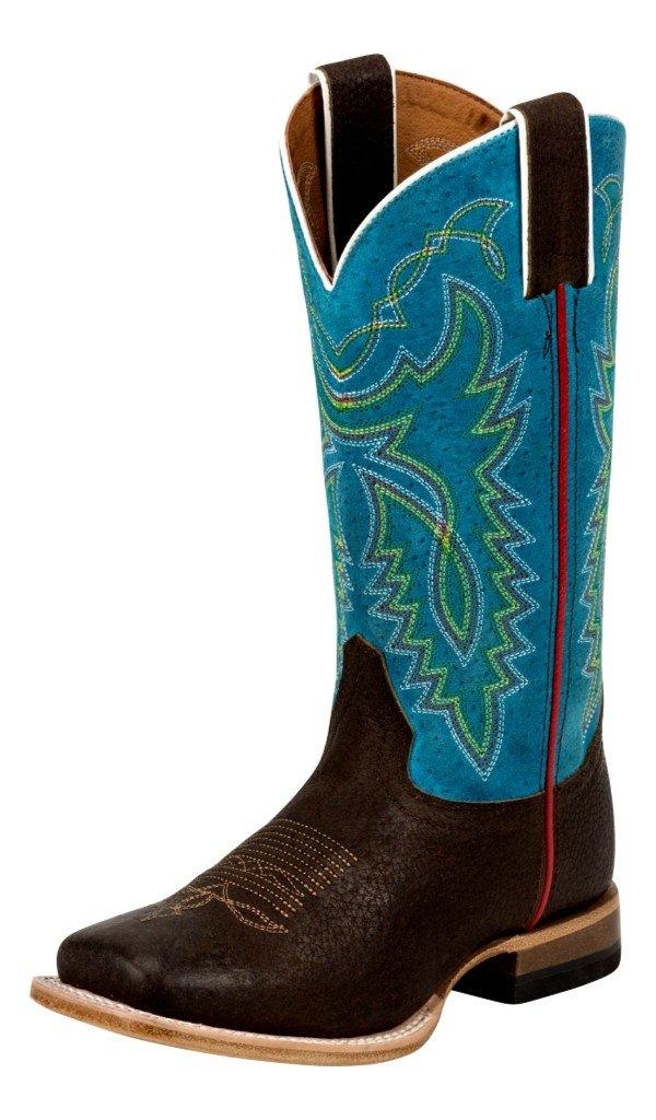 Justin Junior Bent Rail Sq Toe Circo Boots