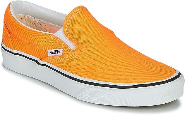 Amazon.com | Vans Classic Slip-on Neon