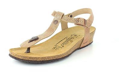 f6bcfdbdec95 Birkenstock Women s Ashley Royal Python Brown Leather Sandal 36 (US Women s  5-5.5)