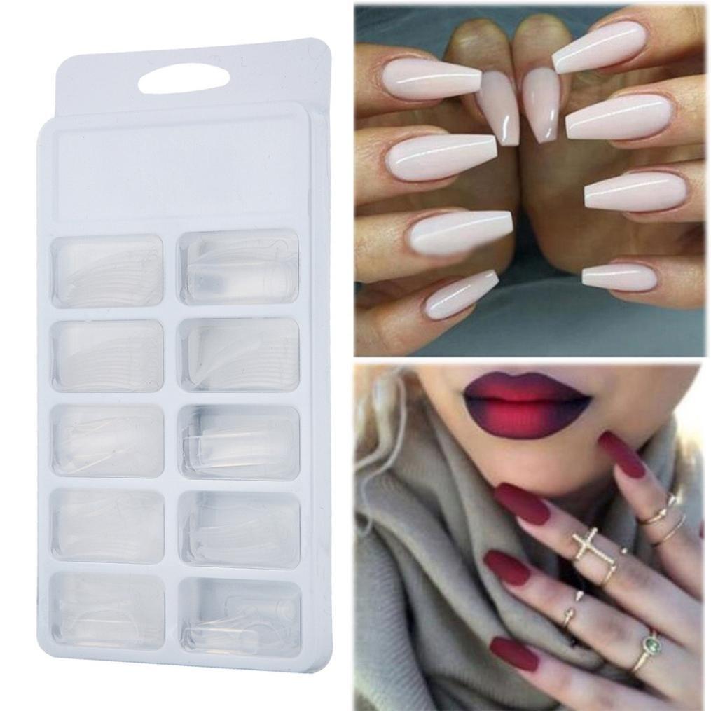 IGEMY Poly Gel 30 ml de larga duración 100 piezas uñas postizas de doble extremo cepillo de uñas Pusher Dead Skin Set: Amazon.es: Belleza