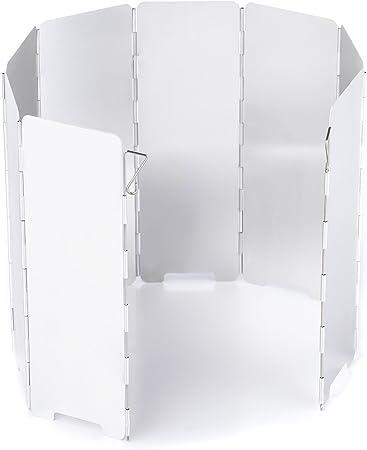 Láminas de aluminio protector de viento con 10 de Plegable y ...