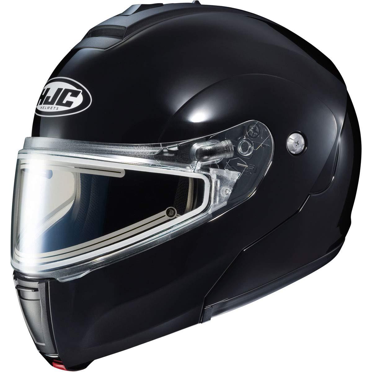 HJC Helmets CL-Max 3 Mens Snowmobile Helmet With Electric Shield Black//X-Large