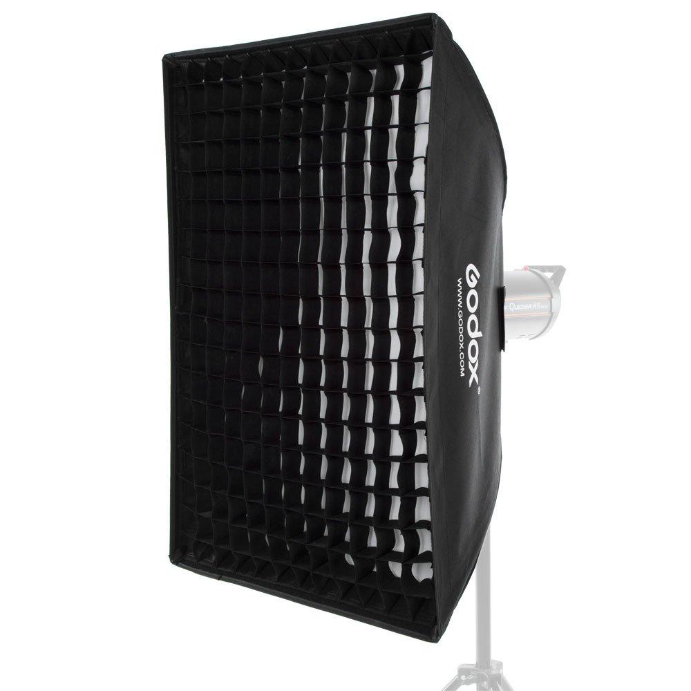 Godox 24''x 35'' 60 x 90cm Honeycomb Grid Softbox Soft Box with Bowens Mount Compatible Studio Strobe Flash Light