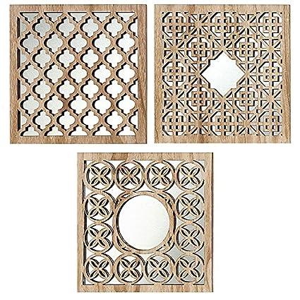 Home Collection - Arredamento, decorazione - set di 3 specchi da ...