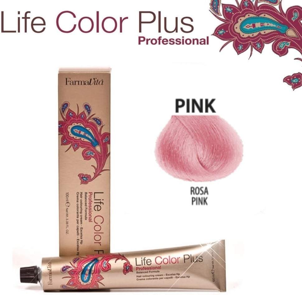 FarmaVita Life Color Plus Tinte Capilar Rosa - 90 ml (8022033102140)