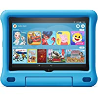 Kid-Proof Case for Fire HD 8 Tablet (Compatible with 10th generation tablet, 2020 release), Blue