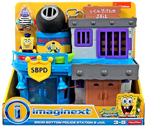 Imaginext SpongeBob Bikini Bottom Police Station and Jail