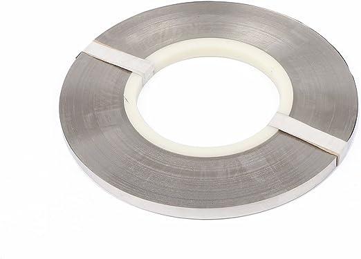 Auart Yilei-Sheet Nickel-Platten-Riemen-Streifen-Bl/ätter Reiner Nickel for Batterieelektrodenfleckschwei/ßmaschine Color : 1 M Korrosionsschutz 0,2 mm x 50 mm 99,96/% rein