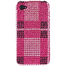 Delton PCIPD42 Plaid Fad Diamond Case for iPhone 4/4S, 1-Pack, Retail Packaging, Multi