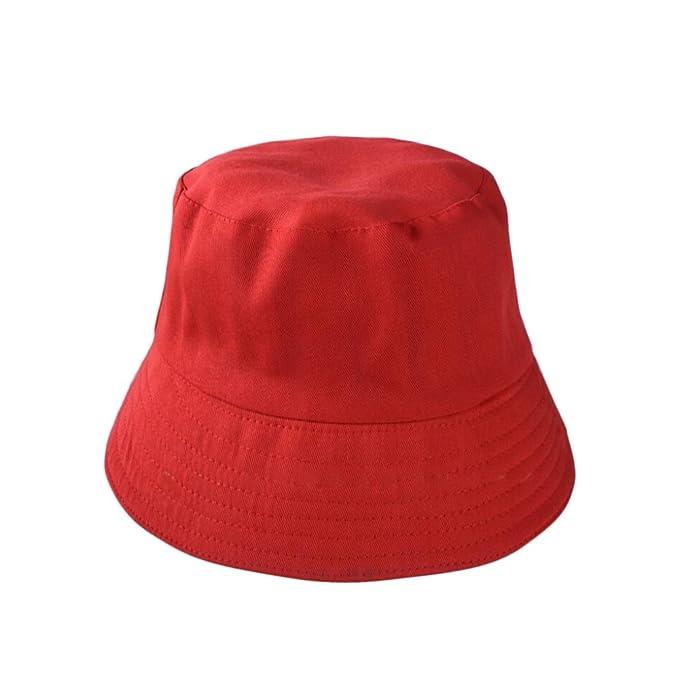 Gysad Diseño de Doble Cara Sombrero de Pescador Viaje Gorro de ...