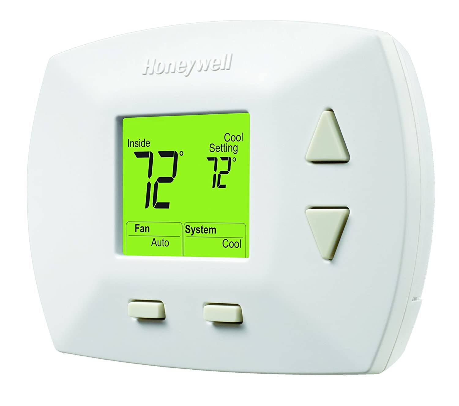 Honeywell Rth5100b 1025 Deluxe Manual Thermostat Programmable Th5110d1022 Wiring Diagram Household Thermostats