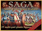 Gripping Beast SAGA Miniatures: Saxon Starter (4 Points) (Plastic)