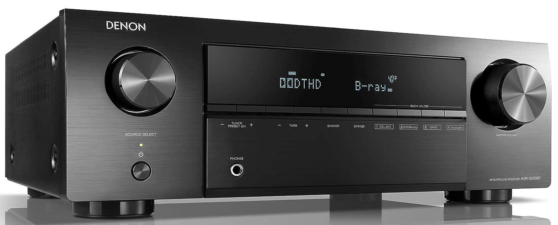 DENON AVR-X250BT - Receptores Audio/Video de Alta definición, Color Negro: Amazon.es: Electrónica