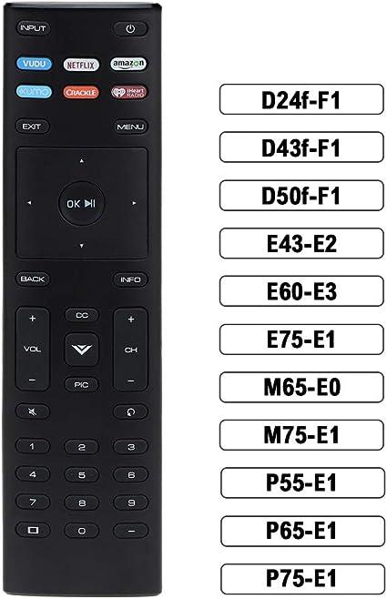 Gvirtue XRT136 Remote Control Replacement fit for Vizio Smart TV ...