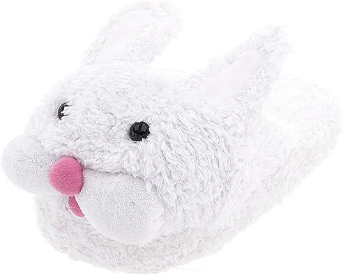 Girls Bunny Head Slipper