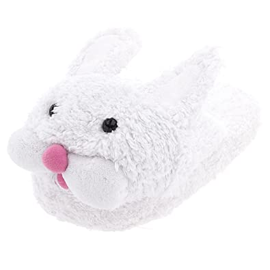 5207bb6f743 Bunny Slippers for Women 5-6 White