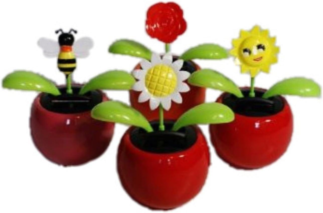 HAAC Solar Wackelblume Blume Rose rot