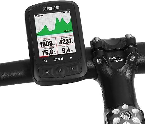 DOOK Ciclocomputadores GPS Ordenador inalámbrico Bicicleta Ciclismo Cuentakilometros Bici 25 Horas de Trabajo, Recargable, Resistente al Agua IPX6, más de 90 Almacenamiento de Datos: Amazon.es: Deportes y aire libre