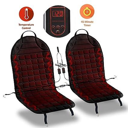 Amazon.es: Zona Tech Cojín Funda de asiento calefactable de ...