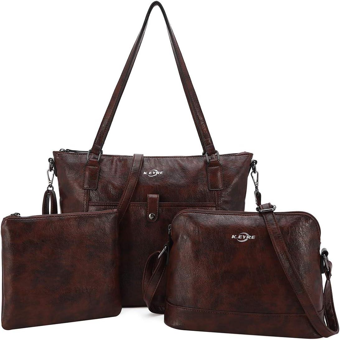 Women Shoulder Handbag Purse Top-Handle Hobo Roomy Casua Ladies' Shoulder Bag Fashion PU Tote Satchel Bag for Women (1A-KL2226#687#10COFFEE)