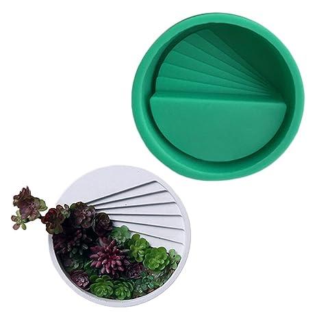Yunt Mini Maceta suculenta, Maceta de Plantas suculentas, Molde de Silicona Cemento de Yeso