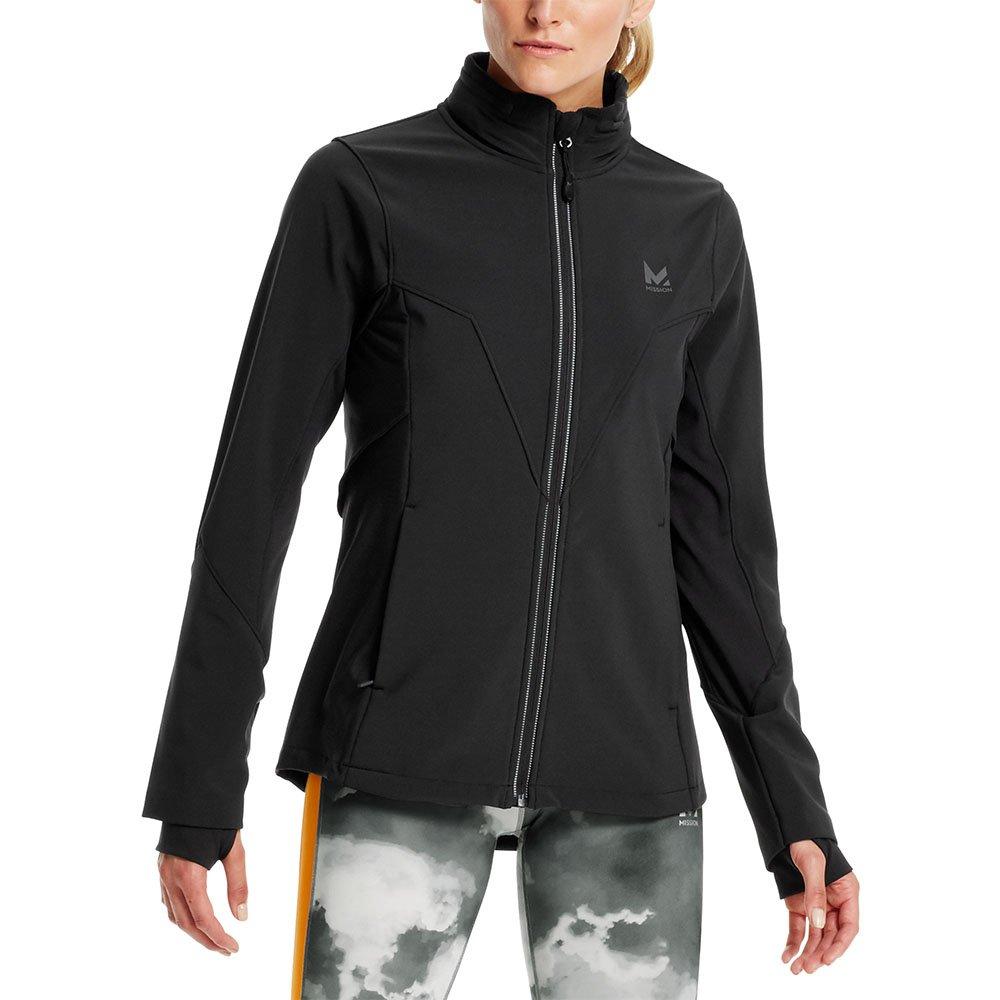 Mission Women's VaporActive Catalyst Jacket, Moonless Night, Large