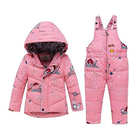 YHJ Snowsuits Chaqueta De Traje De Nieve Abrigada De ...