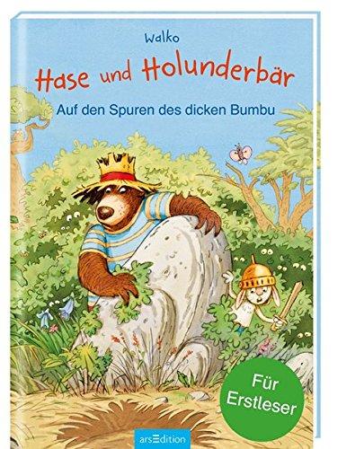 Hase und Holunderbär - Auf den Spuren des dicken Bumbu: Für Erstleser