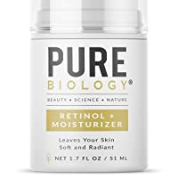 Pure Biology Premium Retinol Cream for Face, Clinically Proven Pepha-Tight, Retinol...