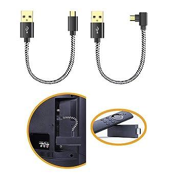 Oneme Cable de alimentación USB para Fire Stick Power up Your Fire Stick Forma el puerto