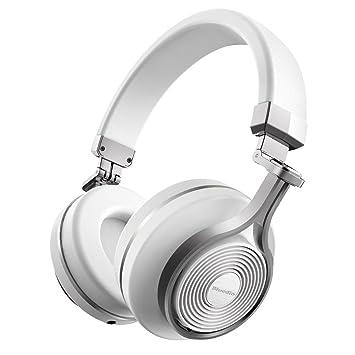 822620be2d1 Bluedio T3 (Turbine 3rd) Auriculares Bluetooth de Diadema con microfono  Efecto 3D Estereo (Blanco): Amazon.es: Electrónica