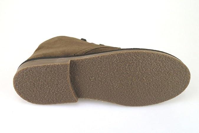 Docksteps AK986 Bottines/Desert Boots Femme 34 EU Daim Marron C3LHTLh7Ff