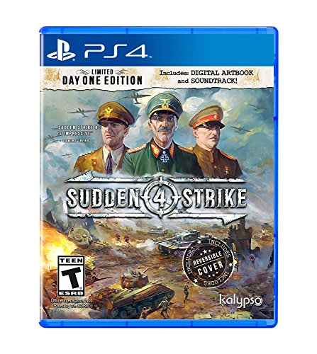 Sudden Strike 4 (PS4) - PlayStation 4 (Best War Strategy Games Ps4)