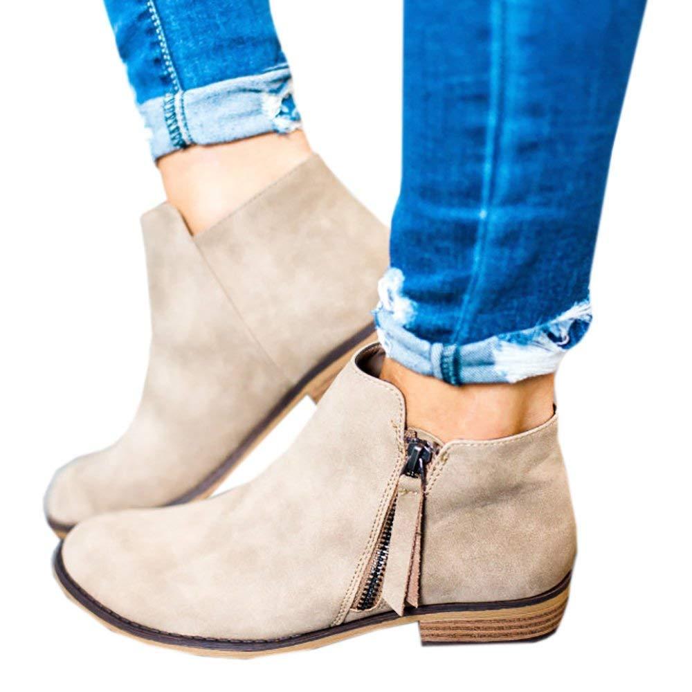 Boots Daim Femme Daim Bottine Beige Femmes Plates Basse Cuir 19985 Bottes Chelsea Chic Compensées Grande Taille Talon Chaussures 2.5cm Beige Gris Noir 35-43 Beige 4e74881 - shopssong.space