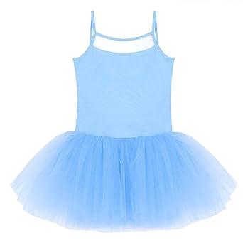 Freebily Maillot Vestido de Ballet Danza Tutú Vestido Clásico de Princesa Actuación para Niña (2-14 años): Amazon.es: Ropa y accesorios
