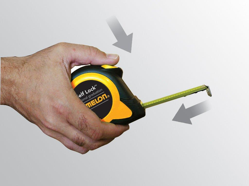 Komelon SL2925 Self Lock Speed Mark 25-Foot Power Tape