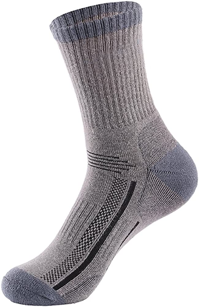 bjduck99 Winter Sports Mens Cotton Warm Running Business Breathable Socks Christmas Gift