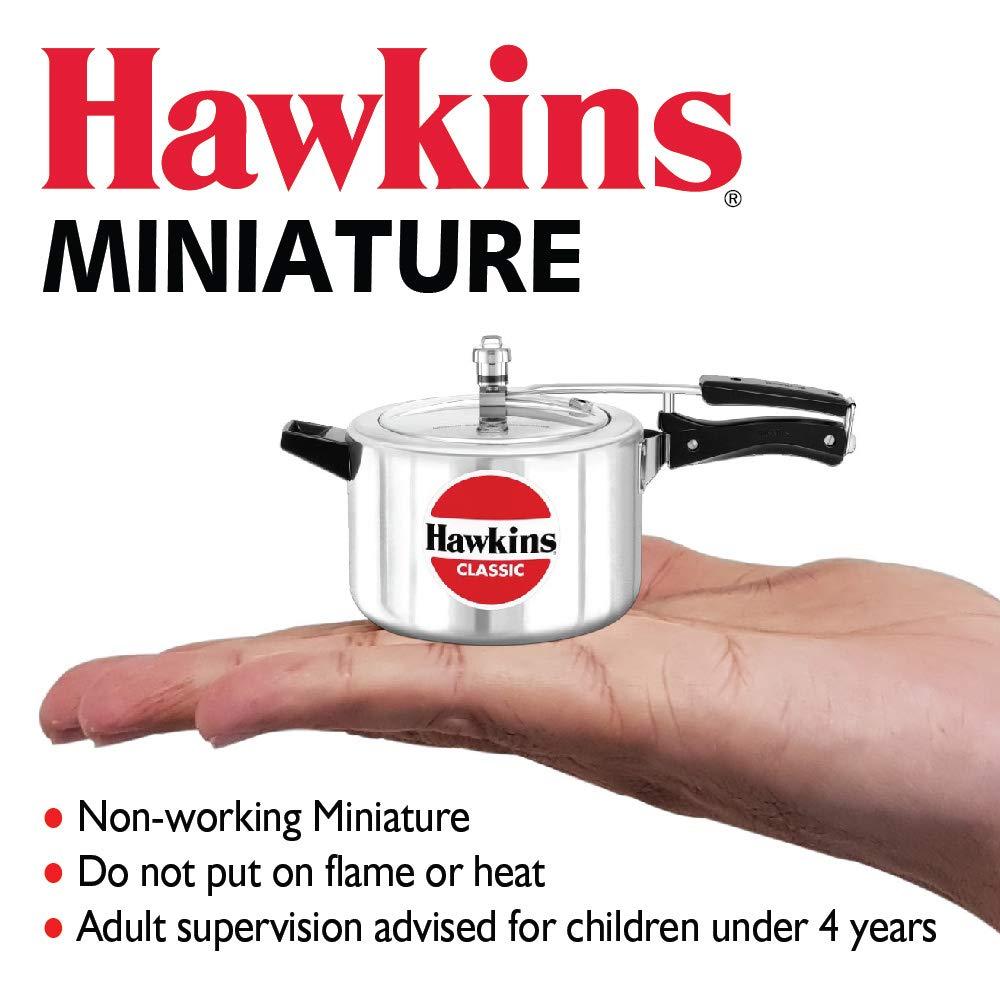 Very Beautiful Hawkins Aluminium Toy Cooker Silver.