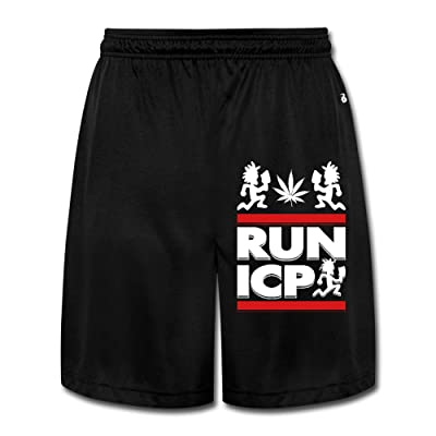 BAI XUE Men's Run Hatchetman Icp Cotton Running Pants Shorts