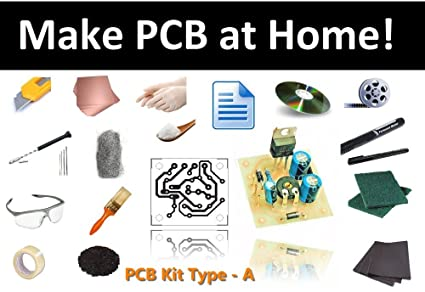 Buy PCB Fabrication Kit Type A, Make Printed Circuit Board Home ...