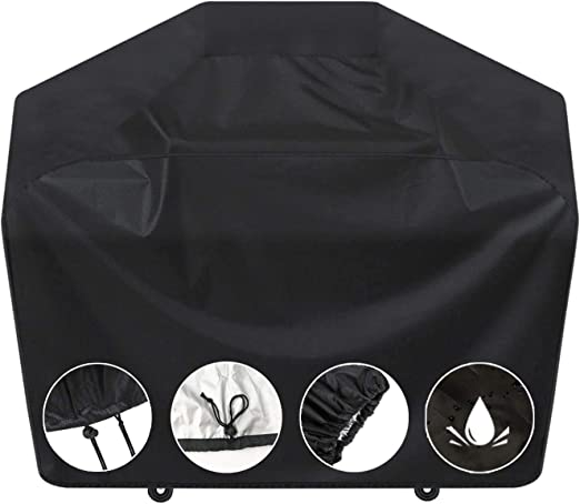 Amazon.com : SARCCH Grill Cover, 58- inches BBQ Special Grill Cover, Waterproof, UV and Fade Resistant, Durable and Convenient, Black,Fits Grills of Weber Char-Broil Nexgrill Brinkmann and More, : Garden & Outdoor