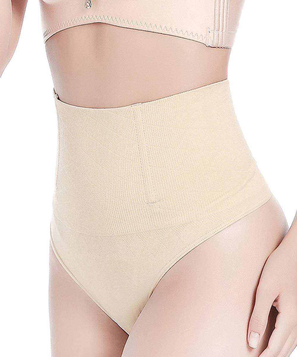 829c6fed4f5 FUT Women Waist Cincher Girdle Tummy Slimmer Sexy Thong Panty Shapewear