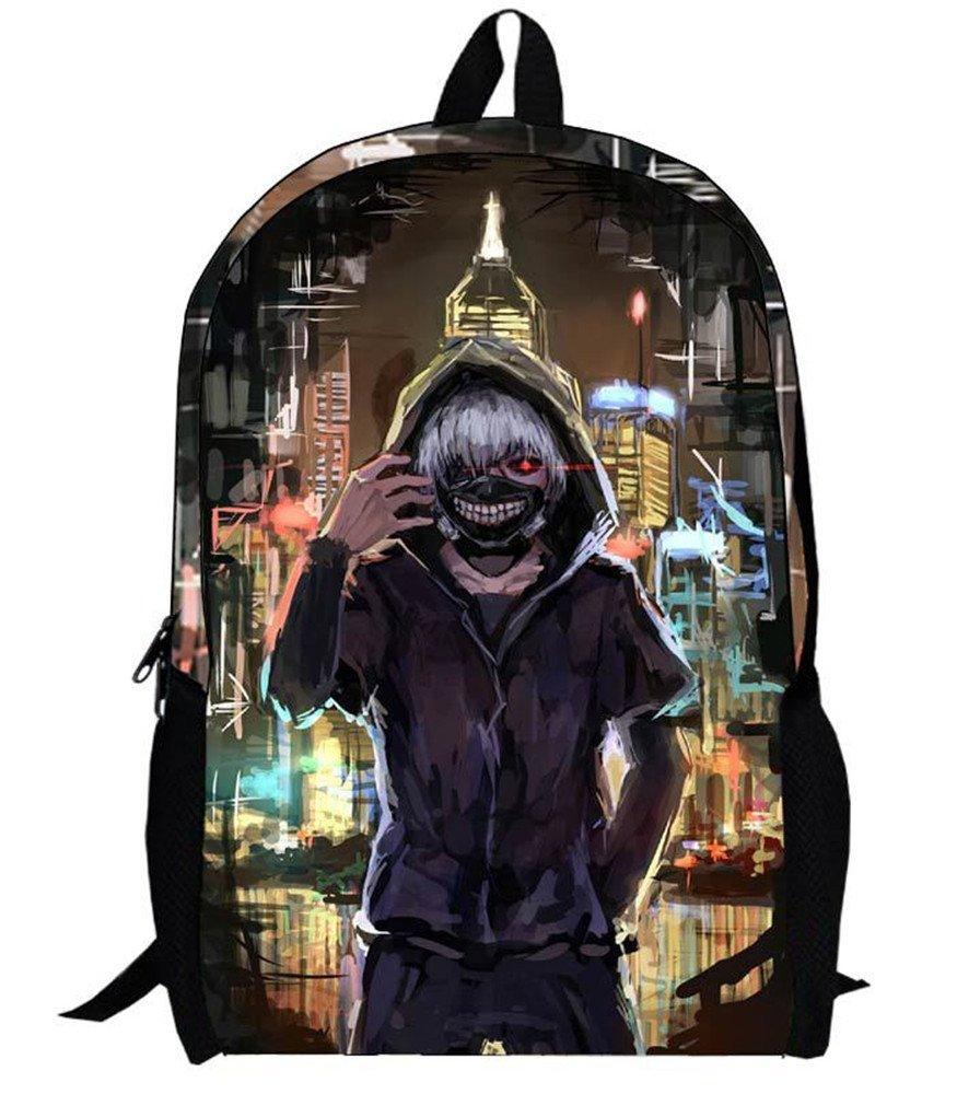 Siawasey Tokyo Ghoul Anime Kaneki Ken Cartoon Backpack Shoulder School Bag